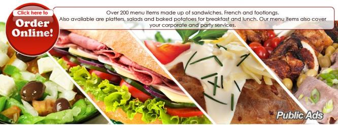 Find Your Favourite Platter with Sandwich Baron