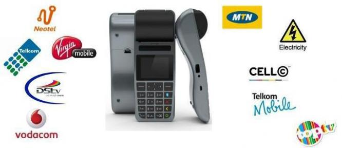 Prepaid Airtime and Electricity Machines in Pretoria-Tshwane, Gauteng