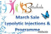 BETTABODS LYPOLITIC INJECT AND DIET PROGRAMME