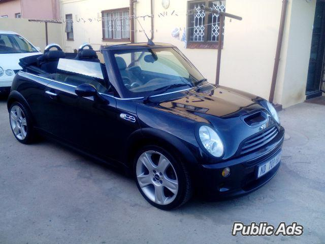 2006 mini cooper s convertible for sale or take over ownership through wesbank phoenix. Black Bedroom Furniture Sets. Home Design Ideas