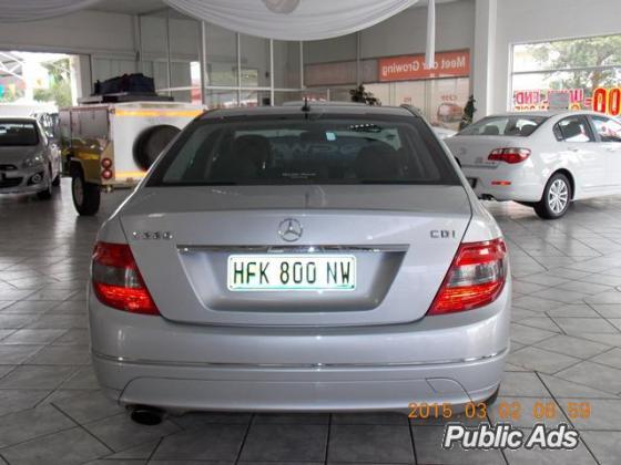2009 MERCEDES BENZ C220 CDI AUTOMATIC