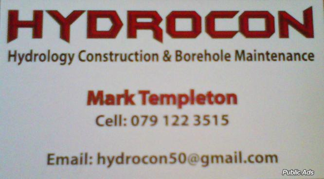 HYDROCON- BACK UP WATER BOOSTER SYSTEMS