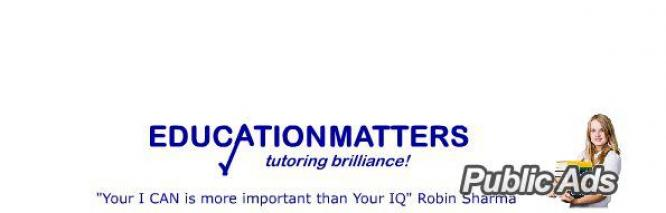 Afrikaans, Mathematics, Science and Accounting Part Time tutors wanted.
