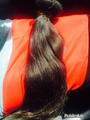 Brazilian and Peruvian hair