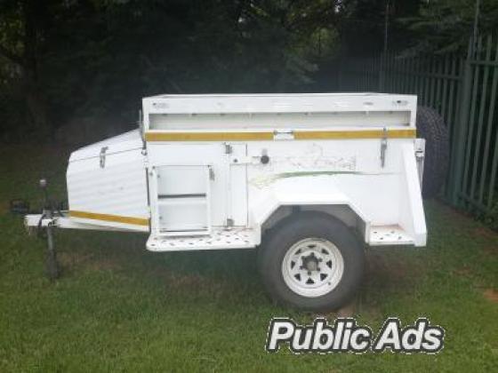 Challenger Bundu Basher off-road (4x4) trailer