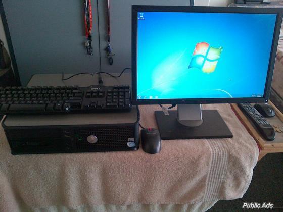 Dell optiplex 755 with dell screen