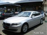 BMW 2012 520d 8 speed A/T