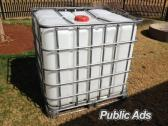 Clean Flow bins 1000L water tanks/IBC