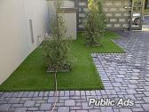 EcoGrass synthetic artificial grass or astro turf.