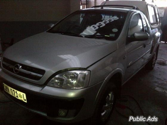 2007 Opel Corsa Utility 1.7 DTi Sport with Canopy