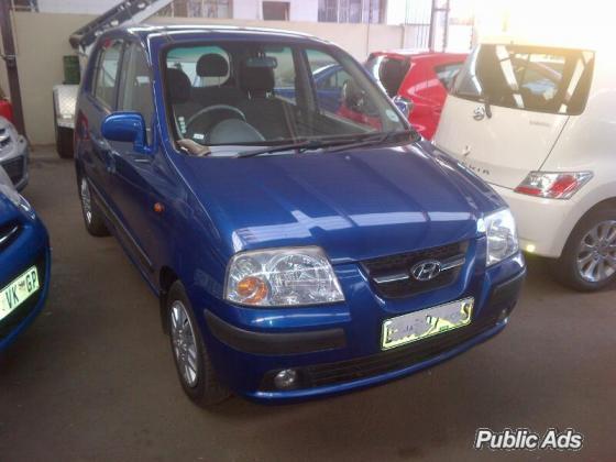 2009 Hyundai Atos 1.1 GLS (111310km)