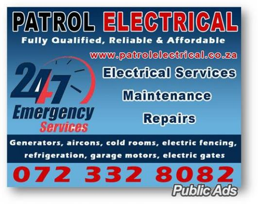 ADVANCED ELECTRICAL SERVICES IN PRETORIA EAST 0723328082 ,CENTURION