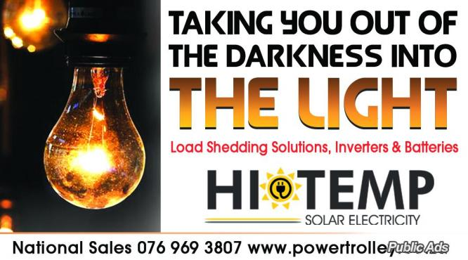 Affordable Load-shedding soluion