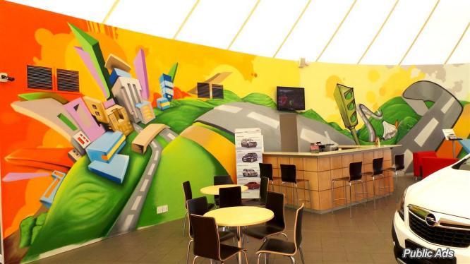 BluCologne Exterior/Interior Art