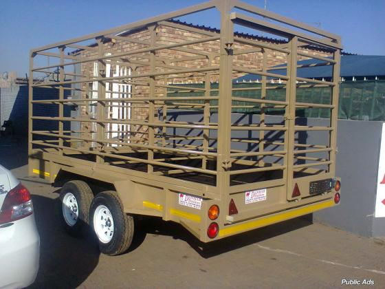 Cattle trailer to be sold