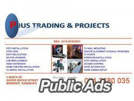 Dstv, tv, cctv, network point installers in Morningside 0742680035
