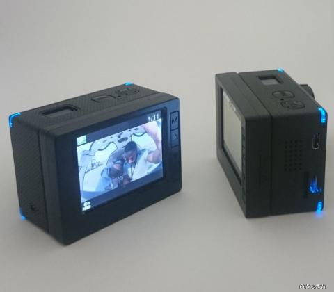 Ishare S800 HD Action Camera with extra battery pack