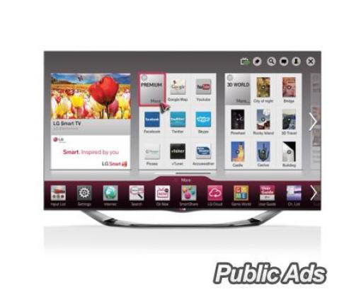 LG 47 inch CINEMA 3D Smart TV LA6900 (47LA6900) in Benoni, Gauteng
