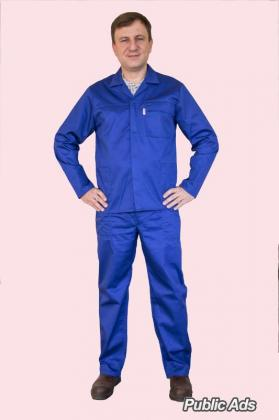 MENS STRONG TWO PIECE CONTI SUIT - ROYAL BLUE