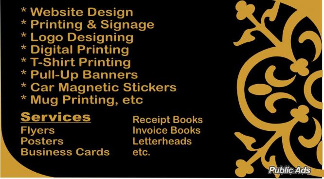 Printing Services and Repairs