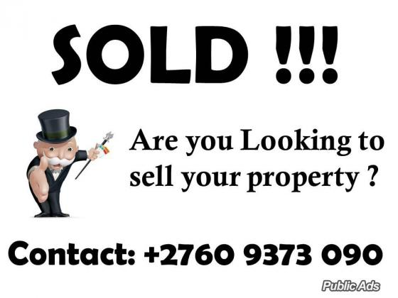 Property Wanted !!!