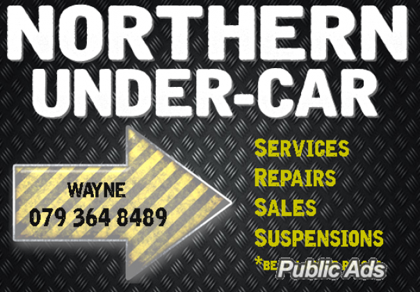 Undercar services & repairs