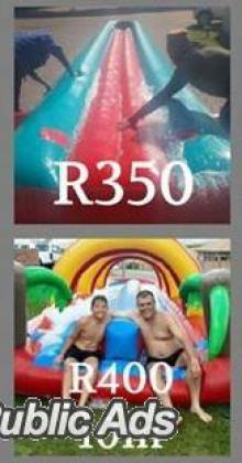 Wacky Jumping Castles and Water Slides for Hire - WITBANK MIDDELBURG