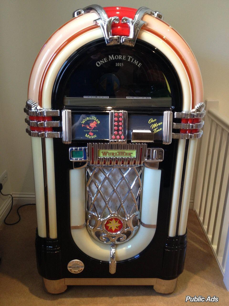 Wurlitzer Jukebox Omt Cd-100 | Boksburg | Public Ads Other