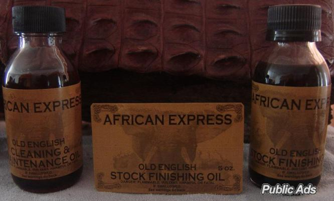 AFRICAN EXPRESS OLD ENGLISH STOCK FINISHING OIL