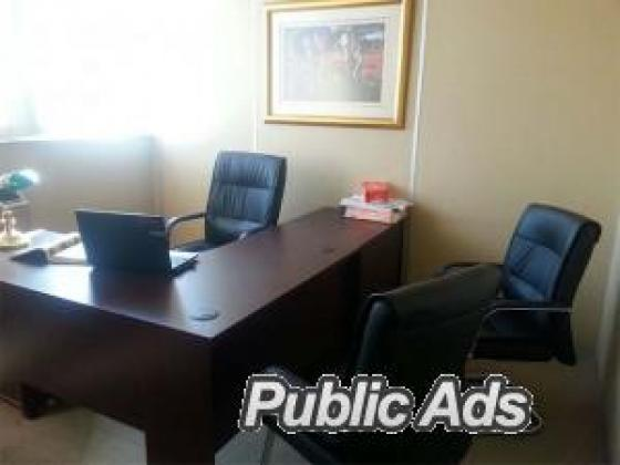 FULLY FURNISHED 2 PERSON OFFICE FOR RENT - R3900 incl. ELECT. in Sandton, Gauteng