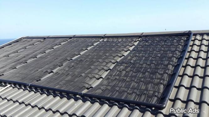 HiTemp Solar Pool panels