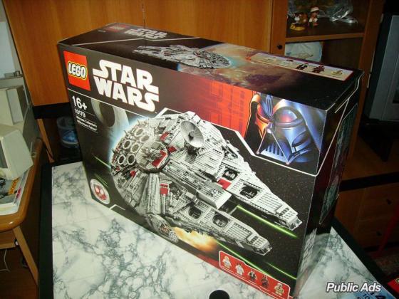 Lego  Star Wars,Lego Ultimate Falcon 10179,Lego Green Grocer,Lego Market Street