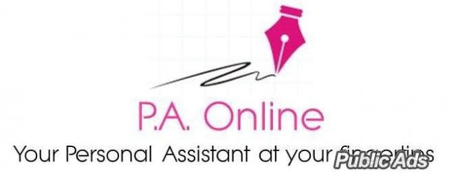 P.A. Online Personal Assistant and Secretarial Services