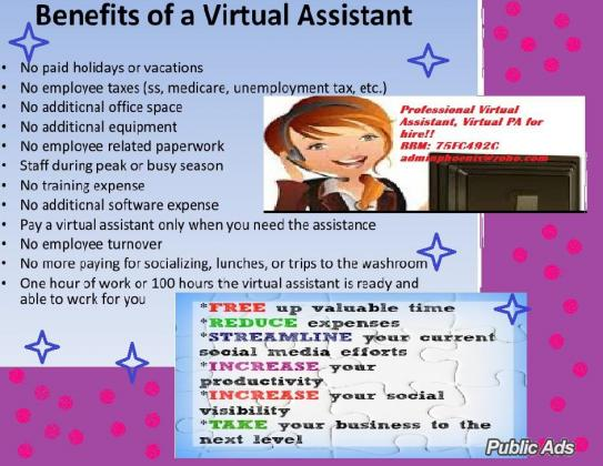 Professional Virtual Assistant or Virtual PA for HIRE!
