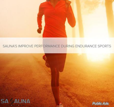SAUNA'S IMPROVE PERFORMANCE DURING ENDURANCE SPORTS