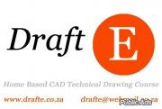 DraftE Home Based CAD Training Technical Drawing Course