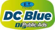 E.T DC Blue garage door motor
