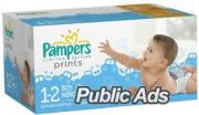 Pampers Baby Dry Diapers Sizes 1, 2 ,3 ,4 & 5