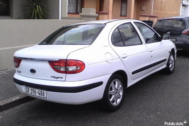 2002 Renault Megane 1.6
