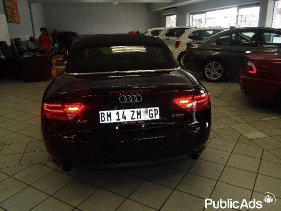 2010 Audi A5 2.0 Tfsi Cabriolet Mtronic for sale