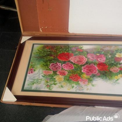 ART' Wall Frame - Flower