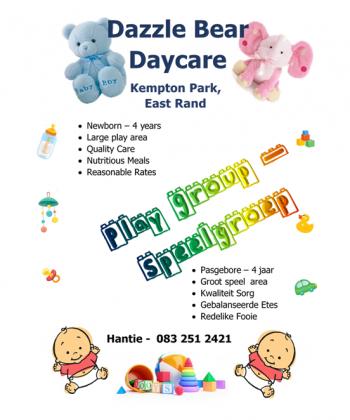 Dazzle Bear Day Care