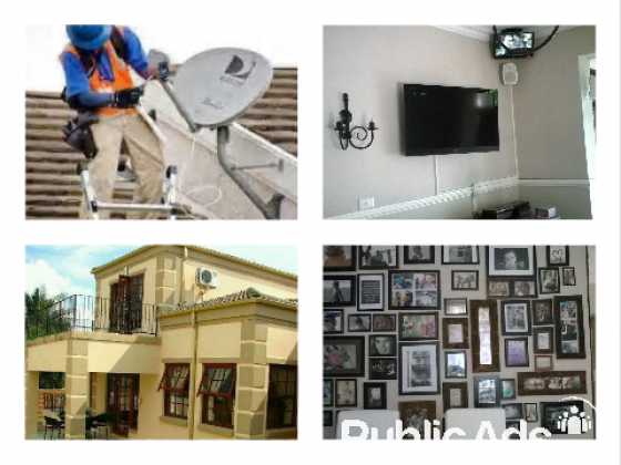 Dstv Installation and TV wall mounting