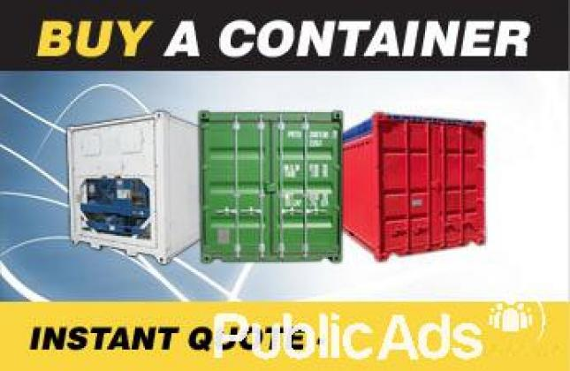 New and Used Storage Containers for sale
