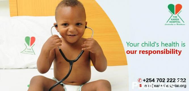 Paediatricians in Kenya - Child hospitals - Infant Health