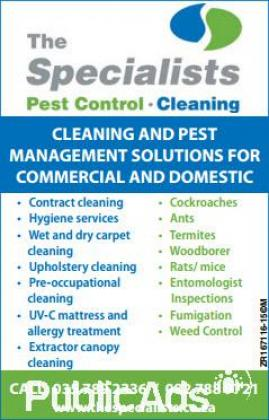Pest Control Specialists - Zululand