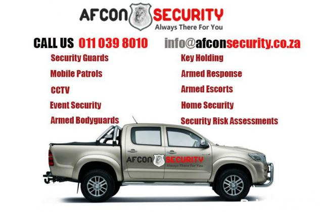Security Company | Security Guards | CCTV  - AFCON Security Services