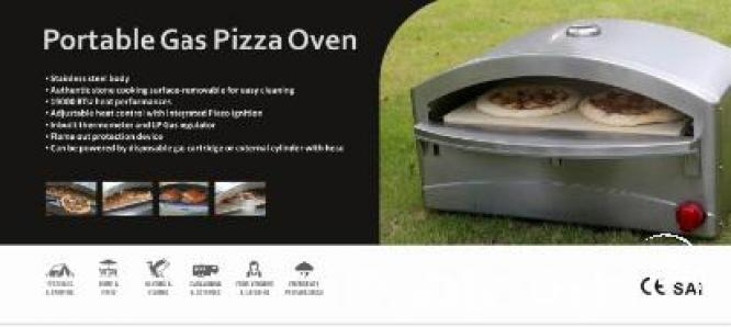 Stainless Steel Gas Pizza Oven