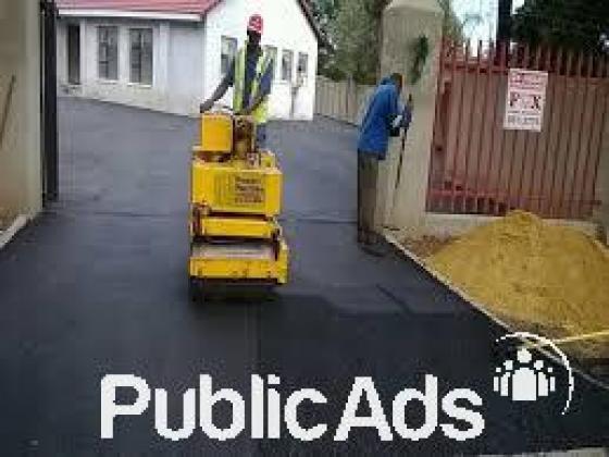 tar surfacing and paving