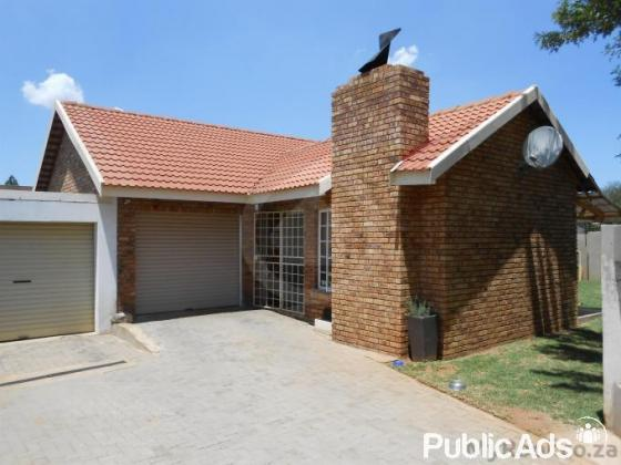 Two 3 bedroomhouses for sale
